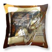 Sunbeams Throw Pillow by Carla Parris