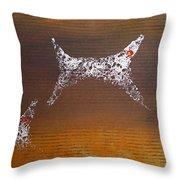 Sunkmanitu Throw Pillow by Charles Stuart