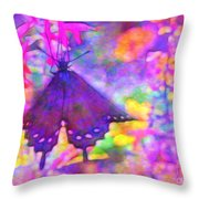 Swallowtail Throw Pillow by Judi Bagwell