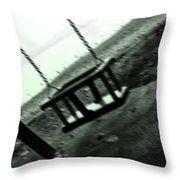 swing Throw Pillow by Joana Kruse