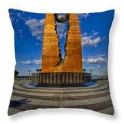 Teardrop Memorial Throw Pillow by Susan Candelario
