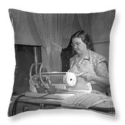 Tennessee: Farm Wife, 1942 Throw Pillow by Granger