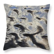 Textured Glass Throw Pillow by Mike McGlothlen