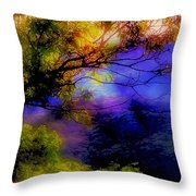 That Mountain Light Throw Pillow by Judi Bagwell