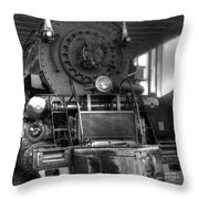 The 1218 Throw Pillow by Dan Stone