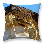 The Art Of Nature Throw Pillow by Kaye Menner