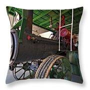 The Beast Throw Pillow by Steve Harrington