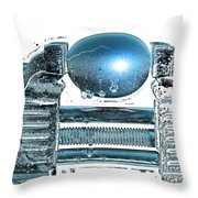 The Big Squeeze  Throw Pillow by Mauro Celotti