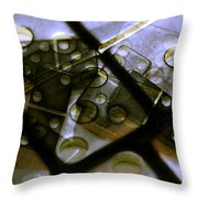 The Bone Pile Throw Pillow by Judi Bagwell