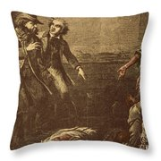 The Capture Of Margaret Garner Throw Pillow by Photo Researchers