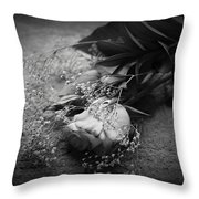 The Day After Throw Pillow by Luke Moore