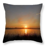 The Day Begins ... Throw Pillow by Juergen Weiss