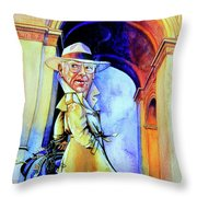 The French Connection Throw Pillow by Hanne Lore Koehler