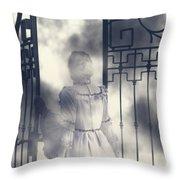 The Gate Throw Pillow by Joana Kruse