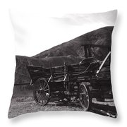 The Good Old Days Throw Pillow by Susanne Van Hulst