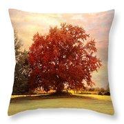 The Healing Tree  Throw Pillow by Jai Johnson
