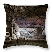 The Hideout Throw Pillow by Ron Jones