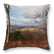 The Hills Have Eyes Throw Pillow by Robert Margetts