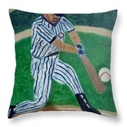 the Hit Throw Pillow by M and L Creations