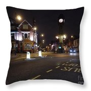 The Jewellery Quarter Throw Pillow by John Chatterley