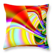 The Marching Band . S14 Throw Pillow by Wingsdomain Art and Photography