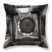 The Painted Hall Throw Pillow by Anna Villarreal Garbis