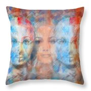The Passage Fragment Throw Pillow by Andrea Ribeiro