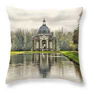 The Pavillion Throw Pillow by Chris Thaxter