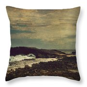The Sea Throw Pillow by Laurie Search