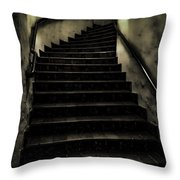 The Stairwell Throw Pillow by Cheryl Young