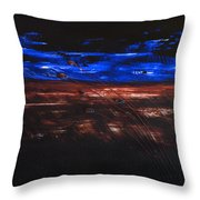 The Storm Throw Pillow by Mauro Celotti