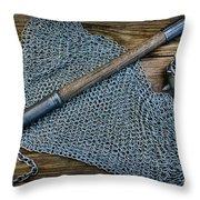 The Warriors Mace Throw Pillow by Paul Ward