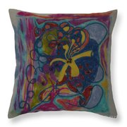 The Way Of The World Throw Pillow by Heather Hennick