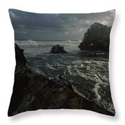 The Wreck Of The Thomas T. Tucker Throw Pillow by James L. Stanfield