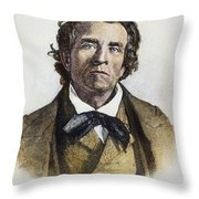 Theodore Weld (1803-1895) Throw Pillow by Granger
