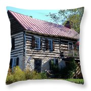 This Old House Throw Pillow by Eva Kaufman