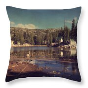 Time Always Reveals Throw Pillow by Laurie Search