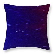 Time And Space Throw Pillow by Thomas R Fletcher