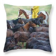 Time To Soak Throw Pillow by JQ Licensing