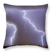 To The Right Right To The Left Left Throw Pillow by James BO  Insogna