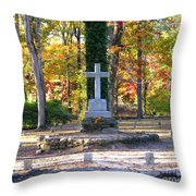 To The Unknown Dead Throw Pillow by Renee Trenholm