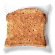 Toast Throw Pillow by Photo Researchers, Inc.