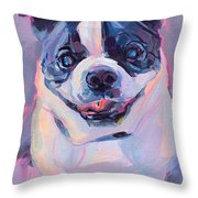 Toothless Throw Pillow by Kimberly Santini