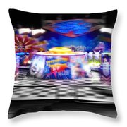 Top No Limit Throw Pillow by Charles Stuart