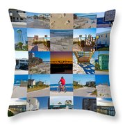 Topsail Visual Contemporary Quilt Series II Throw Pillow by Betsy Knapp