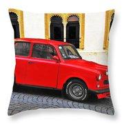 Trabant Ostalgie Throw Pillow by Christine Till