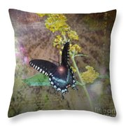Transformation Throw Pillow by Patricia Griffin Brett
