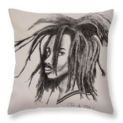 Tree Of Life Throw Pillow by Ikahl Beckford
