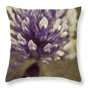 Trefle En Solo - S03bt04 Throw Pillow by Variance Collections