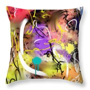 Trenchtown Throw Pillow by Snake Jagger